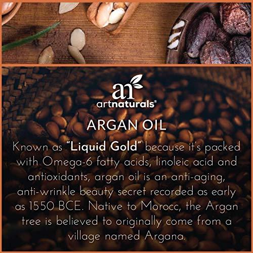 Art Naturals Huile d'argan pour les cheveux