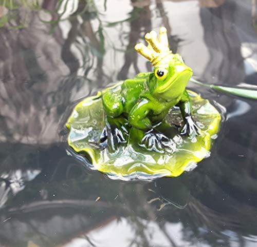 LB H&F Schwimmtier Frosch Teichfigur Froschkönig (Frosch)