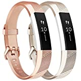 Tobfit Fitbit Alta Band Alta HR Bracelet Replacement en TPU Confortable Réglable Sport Bracelet...