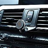 DIYUCAR Handyhalter Für Auto Air Vent Für F22 F23 F30 F31 F34 F32 F33 F34 F35 F36 F80 F82 M4 2013-2019 Mit M LOGO (Schwarz)
