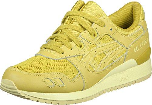 Asics Gel-Lyte III Schuhe Damen Sneaker Turnschuhe Gelb H756L 0303, Größenauswahl:37