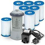 Bomba de filtro 3407litros/hora Intex 28638GS + Bomba Filtro tipo A...