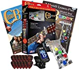 Chord Buddy Guitar Learning System with True Tune Chromatic Tuner & Picks Package - Play Guitar Today with this Shark Tank Product