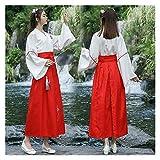 YUNGYE Traje de mujer Tang Dynasty Empress Oriental vestido tradicional Hanfu Cosplay ropa de mujer traje chino antiguo (color: juego largo, tamaño: S.)