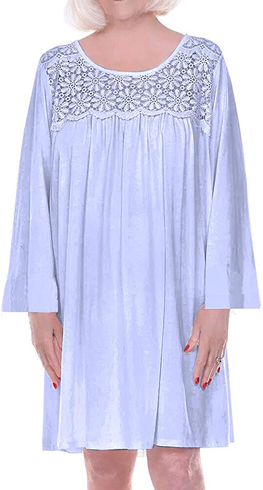 Home Care Line お見舞い Dignity pajamas 超特価SALE開催 Long sleeve Adaptiv Cotton Womens