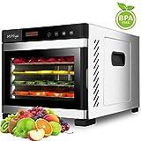 MiMiya Déshydrateur Alimentaire, Machine électrique deshydrateur déshydrateur,...