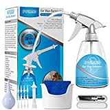Removedor de cera de oídos, limpiador de oídos, kit de jeringa de limpieza de oídos 28 en 1, eliminación de cera de oídos para limpiar los oídos para adultos y niños