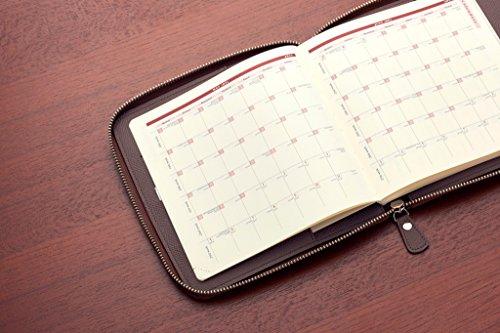 クオバディス手帳ラウンドジップカバークラブ(合皮)16x16cmブラックqv16x16crobk