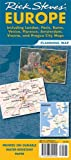 Rick Steves Europe Planning Map: Including London, Paris, Rome, Venice, Florence, Amsterdam, Vienna & Prague City Maps