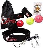 4 x Pelota de Boxeo para Cabeza con Diadema y Banda Elastica - Boxing Reflex Ball - Punching -Pera, Saco, Kit de Entrenamiento Profesional en casa