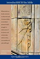 Introduction to the Bible (The Open Yale Courses Series) by Christine Hayes(2012-10-30)