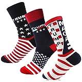 Migi Trump Socks Make America Great Again Republican Socks Republican Gifts USA Socks, Trump Mix1, same