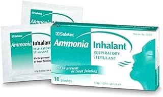 Safetec Ammonia Inhalant Pouches - First Aid - 10 per Box