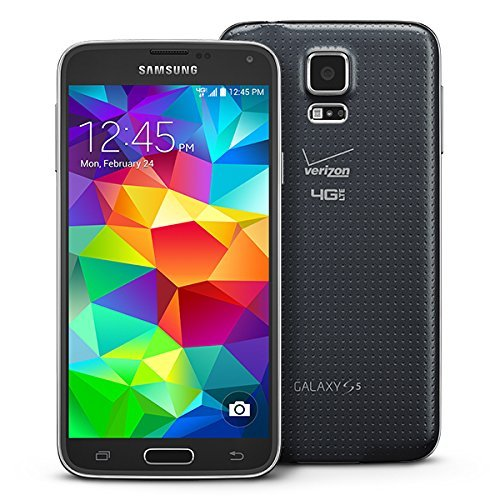 cc23c08d700 Samsung Galaxy S5 G900V Verizon 4G LTE Smartphone w/ 16MP Camera - Black -  Verizon