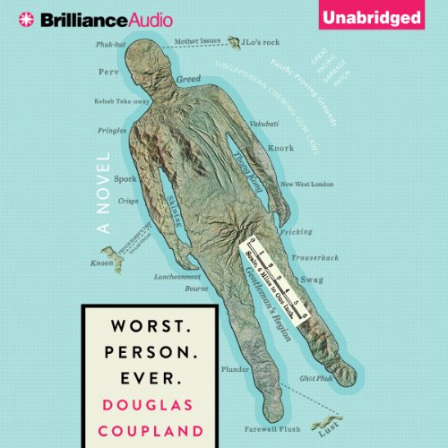 Worst. Person. Ever.                   By:                                                                                                                                 Douglas Coupland                               Narrated by:                                                                                                                                 James Langton                      Length: 7 hrs and 44 mins     88 ratings     Overall 3.8