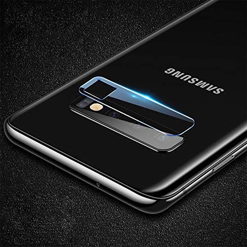 subtel® Cristal Templado para Lente cámara Compatible con Samsung Galaxy S10 (SM-G975F) (Cristal Templado, 0,30mm, 9H, Alta Transparencia) - Vidrio Templado Blindado Protector de Lente de cámara