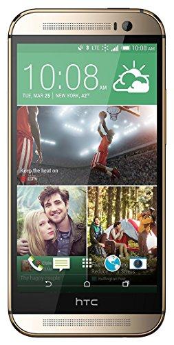 HTC One M8 32 GB 4G LTE entsperrt GSM 4G Dual-Lautsprecher Smartphone mit Android OS, Amber Gold