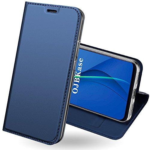 OJBKase Funda Xiaomi Redmi Note 5 Pro, Premium Piel sintética Billetera Carcasa Protectora Cartera y Funda Cubierta Interior TPU Protección De...