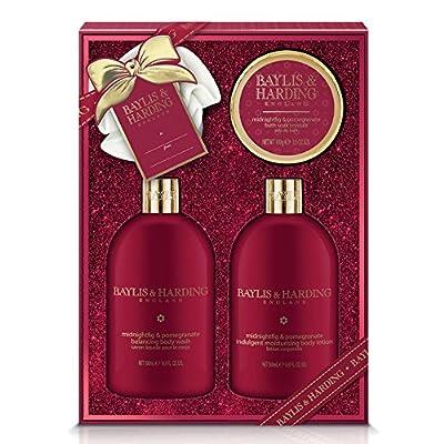 Baylis & Harding Indulgence Collection, Midnight Fig and Pomegranate