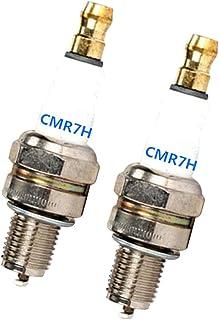 B Blesiya 2 Piezas Bujías de Motor para Recortadora/Bomba de Agua/Máquina de Excavación Cmr7h
