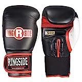 Ringside Gel Shock Boxing Super Bag Gloves, Black, Large
