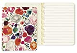 Kate Spade New York Concealed Spiral Notebook with 112 Lined Pages, Floral