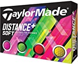 テーラーメイド(TAYLOR MADE) ゴルフボール DISTANCE DISTANCE+SOFT 12P メンズ M7174701 マルチカラー