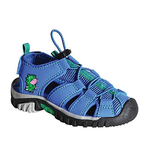 Regatta Sandal, Sandalias Peppa Pig, Ajustables, con Malla de ventilación y protección de Dedos, Oxford Blue, 37 EU