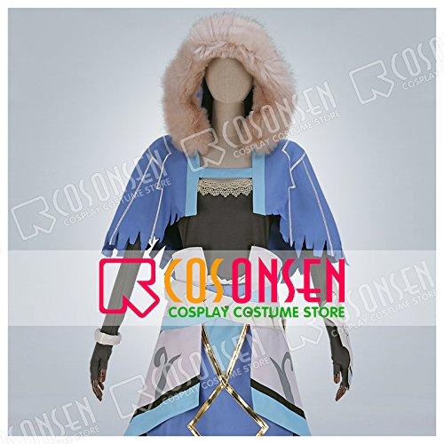 Fate/Grand Order FGO クー・フーリン コスプレ衣装 霊基再臨 第二段階 キャスター (男性S)