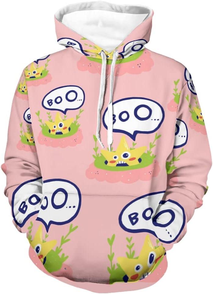 Boys Regular dealer Girls Pullover Hoodies Hooded Cartoon Max 43% OFF Stars Sweatshirt Boo