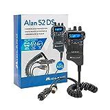 Radio CB portatile Midland Alan 52 DS Multi con squelch digitale automatico Codice C1267.01