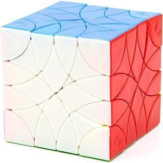 Hastighetskub, pusselkub, magisk hastighetskub, lätt att vrida och smidigt spel, 3D oregelbunden hastighet kubning 4 x 4 x...