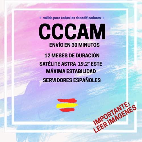 ⭐⭐⭐⭐⭐ C C C A M Premium - 12 Meses - ESPAÑA - C Line con ENVÍO EN 30 Minutos - Importante: Leer IMAGENES