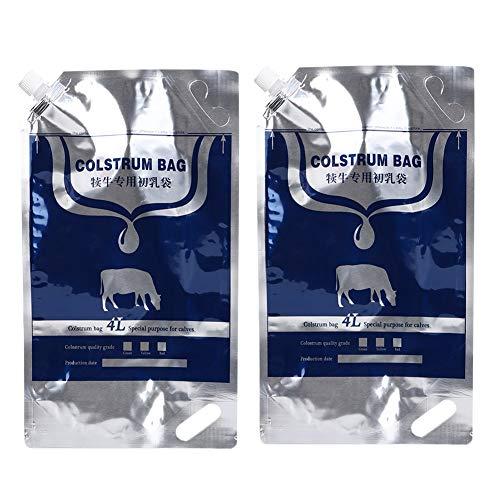 Bolsa de almacenamiento de llenado de calostro no tóxico, bolsa de empaque de calostro, bolsa de leche de oveja para pasto de terneros de granja