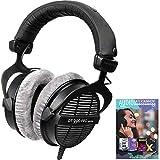 beyerdynamic 459038 DT-990-Pro-250 Professional Acoustically Open Headphones 250 Ohms Bundle with Tech Smart USA Audio Entertainment Essentials Bundle 2020