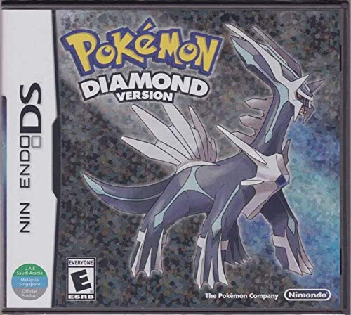 New Pokemon Diamond Version Game Cartridge Card Sealed in Box USA Reproduction For Nintendo DS 2DS 3DS DSI