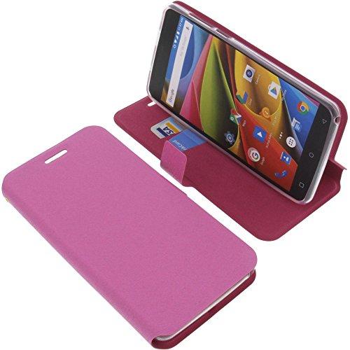 foto-kontor Tasche für Archos 55b Cobalt Lite Book Style pink Schutz Hülle Buch