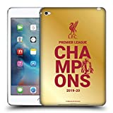 Head Case Designs Officiel Liverpool Football Club Or Typographie Champions 2020 Coque en Gel Doux...