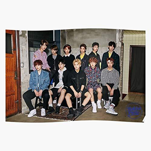 Group Kpop Child Gncd Band Golden Home Decor Wall Art Print Poster