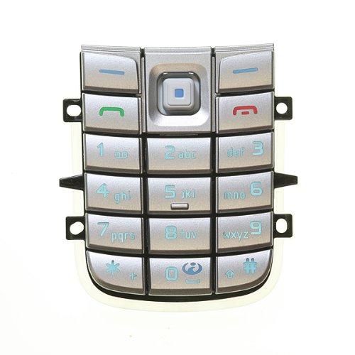 Nokia 6020 Tastatur-Matte, Farbe: silber