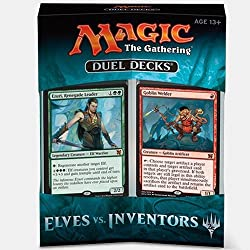 powerful Magic the Gathering Duel Decks:Elves vs Inventors