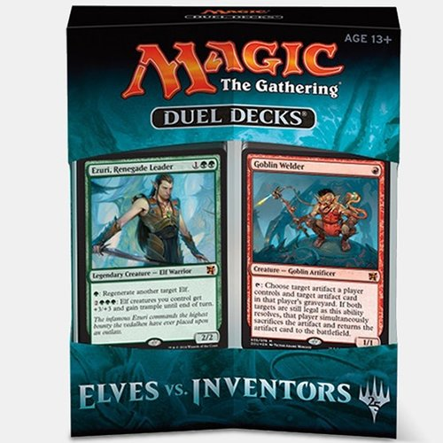 Magic The Gathering Duel Deck Spielkarten Elves vs Inventors MTG-Evl-EN