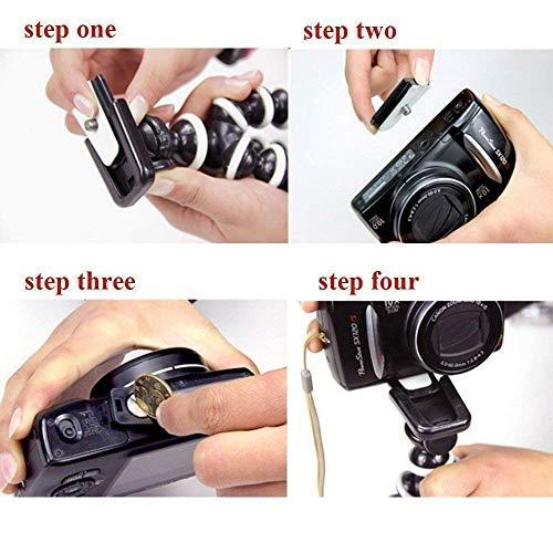 Marklif Gorilla Tripod/Mini Tripod 13 inch for Mobile Phone with Holder for Mobile, Flexible Gorilla Stand for DSLR & Action Cameras