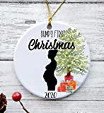Bump's first Christmas ornament for tree | First Christmas pregnant | 2020 pregnancy