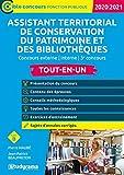 Assistant territorial de conservation du patrimoine et des bibliothèques - Concours externe, interne et 3ème concours