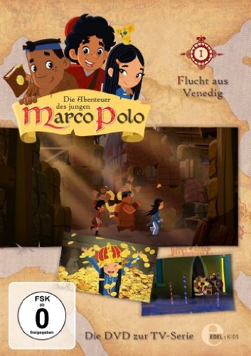 Die Abenteuer des jungen Marco Polo, Folge 1 - Flucht aus Venedig