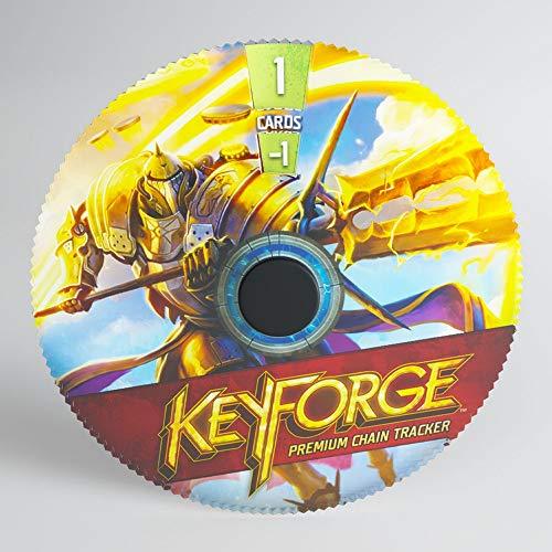 GAMEGEN!C- Keyforge Premium Sanctum Chain Tracker ML, Color (GGS60004ML)