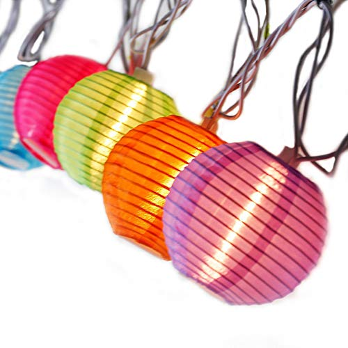 AceList Mini Lantern String Lights 20 LED for Home Bedroom Kids Decorations Indoor Teepee Princess Tent Yard Decor Lights