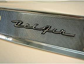 Eckler's Premier Quality Products 57-249080 Chevy Dash Script Emblem, Bel Air, Chrome
