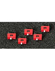 MissBirdler 5 unidades 1P DIP Switch, con 2,54 cuadrícula para Arduino Raspberry Pi